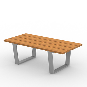 Rowan Coffee Table - View 2 - Park (Silv