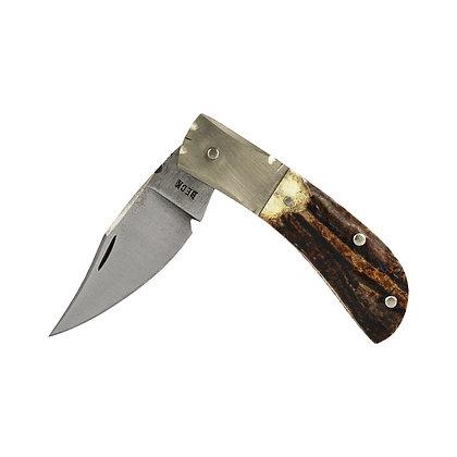 """Beck 3"""" Stag Pocket Knife"""
