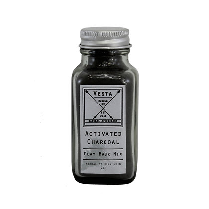 Activated Charcoal Clay Mask Mix