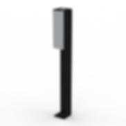 Alder Ash Post - View 5 - Neutral (Black