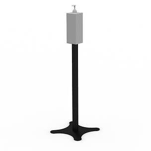 Sanitizer Dispenser - View 2 - Neutral (