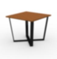 Rowan Square  X Table - View 2 - Neutral