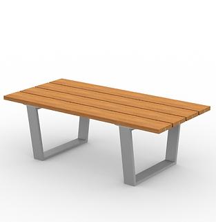 Rowan Coffee Table - View 2 - Park (Silv