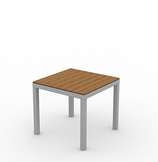 Juniper End Table - View 2 - Neutral (Si