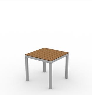 Juniper End Table - View 2 - Neutral (Si