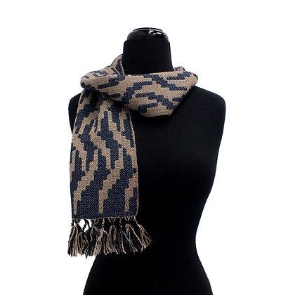 Indigo Clouds Scarf