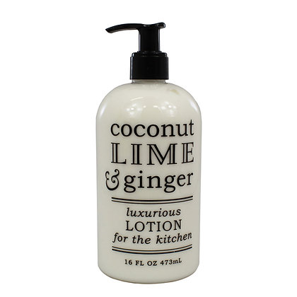 Coconut, Lime & Ginger Kitchen Lotion
