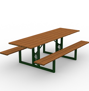 Loblolly Table - View 2 - Park (Green)_e