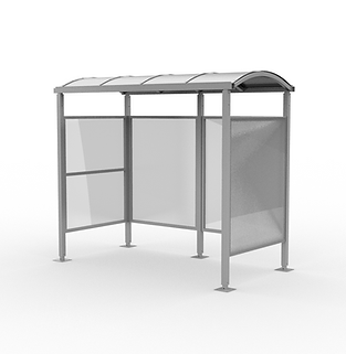 Barrel Shelter - View 1 - Neutral (Silve