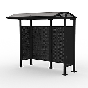 Slim Line Shelter - View 1 - Neutral (Bl