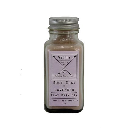 Rose Clay & Lavender Mask Mix