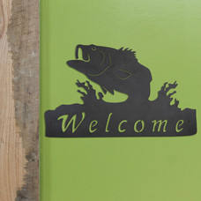 Fish welcome sign life style picture_102