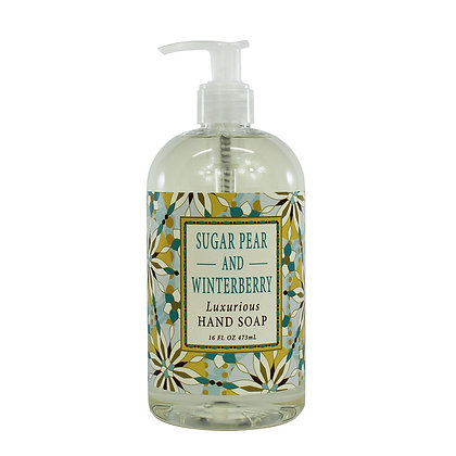 Sugar Pear and Winterberry Hand Soap