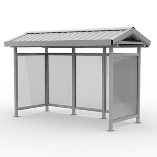 Depot Shelter - View 2 - Neutral (Alumin