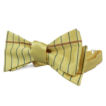 Lined Paper Bow Tie