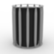 Loom Trash - View 1 - Neutral (Silver).p