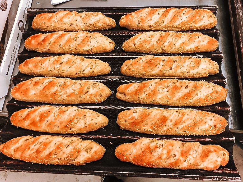 Pain frais boulangerie Rougemont à Nyon