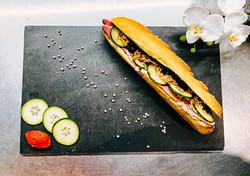 Sandwich à base de produits frais et locaux
