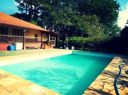 Aproveite nossa piscina.