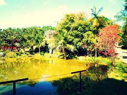 Nosso lago em ampla área verde.
