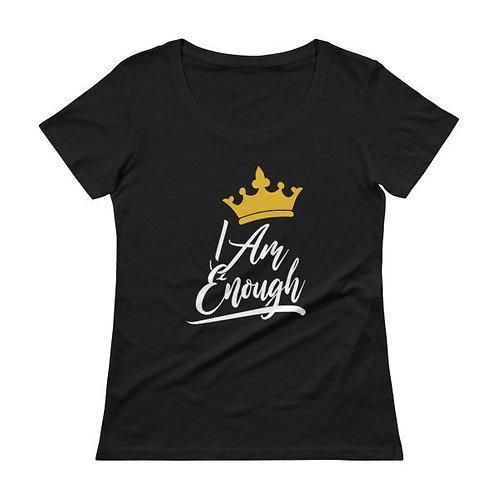 Women's I Am Enough Scoop Neck T-Shirt