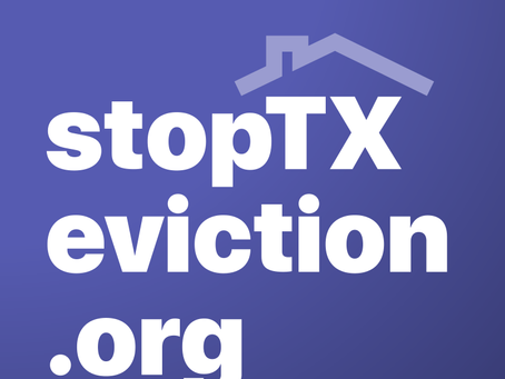 Stop TX Eviction Launches to Keep Renters Housed