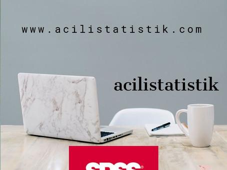 acilistatistik; istatistikle ilgili her şey