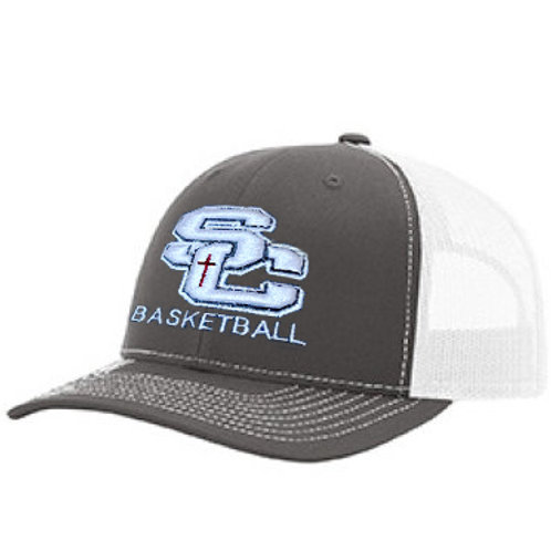 copy of SC -Richardson Snapback Trucker GREY AND WHITE
