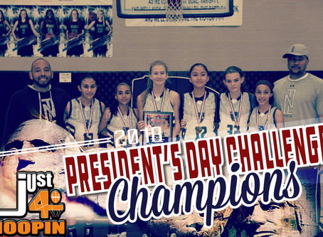 President's Day Challenge CHAMPS!!!!