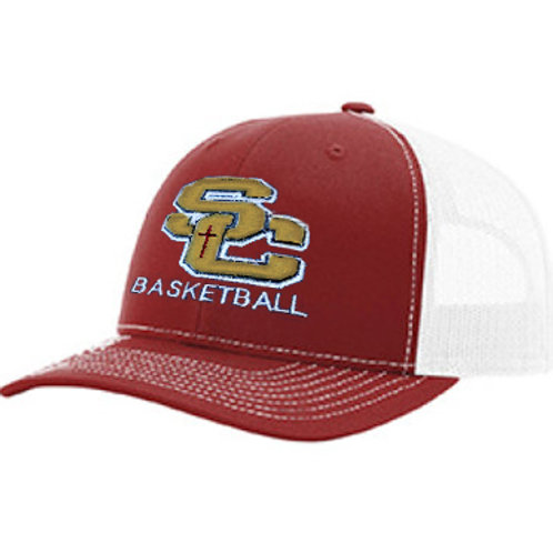 SC -Richardson Snapback Trucker MAROON AND GOLD