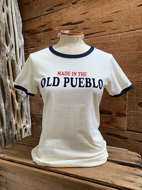 RINGER TEE- MADE IN THE OLD PUEBLO