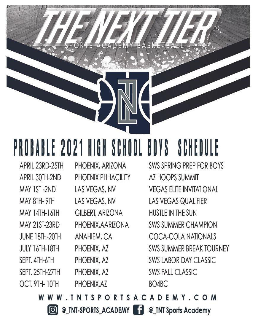 20-21 high school boys tnt tournament sc