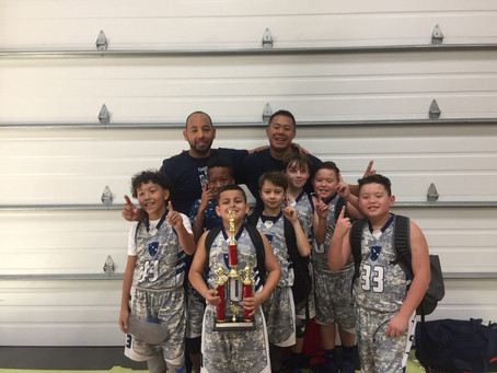 3rd/4th grade team LEAD TOURNAMENT CHAMPS!!!!!