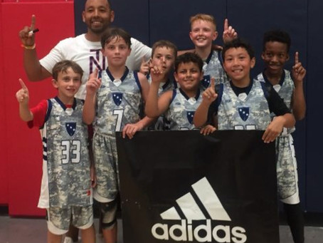 ARIZONA GAUNTLET prep hoops 2018 bash in the desert 10U CHAMPIONS!!!!!!