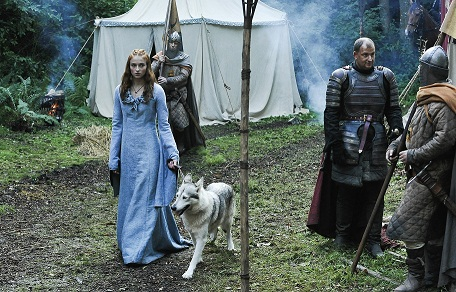 Lady & Sansa Stark-Game of Thrones