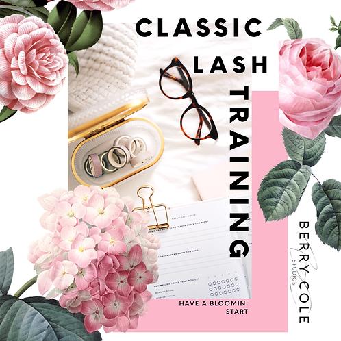 Classic Lash Training Sun 18th Oct 2020