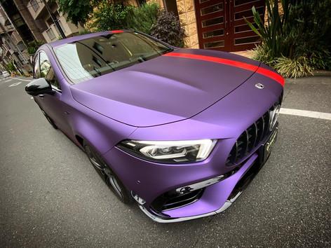 A45s Matte Purple