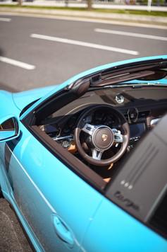 Targa Miami Blue マイアミブルー ラッピング