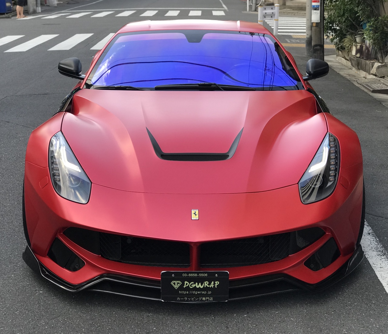 F12 Satin Pearl Red