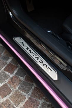 ランボルギーニ アヴェンタドール サテンピンク フルラッピング Aventador Satin Pink