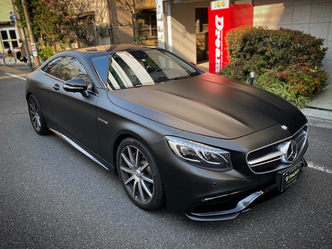 S63 Coupe Satin Black
