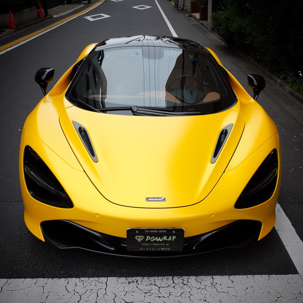 720s Satin Yellow
