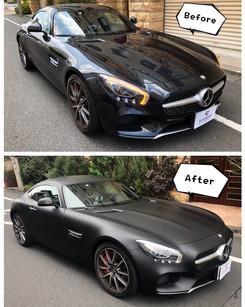 AMG GT Matte Black