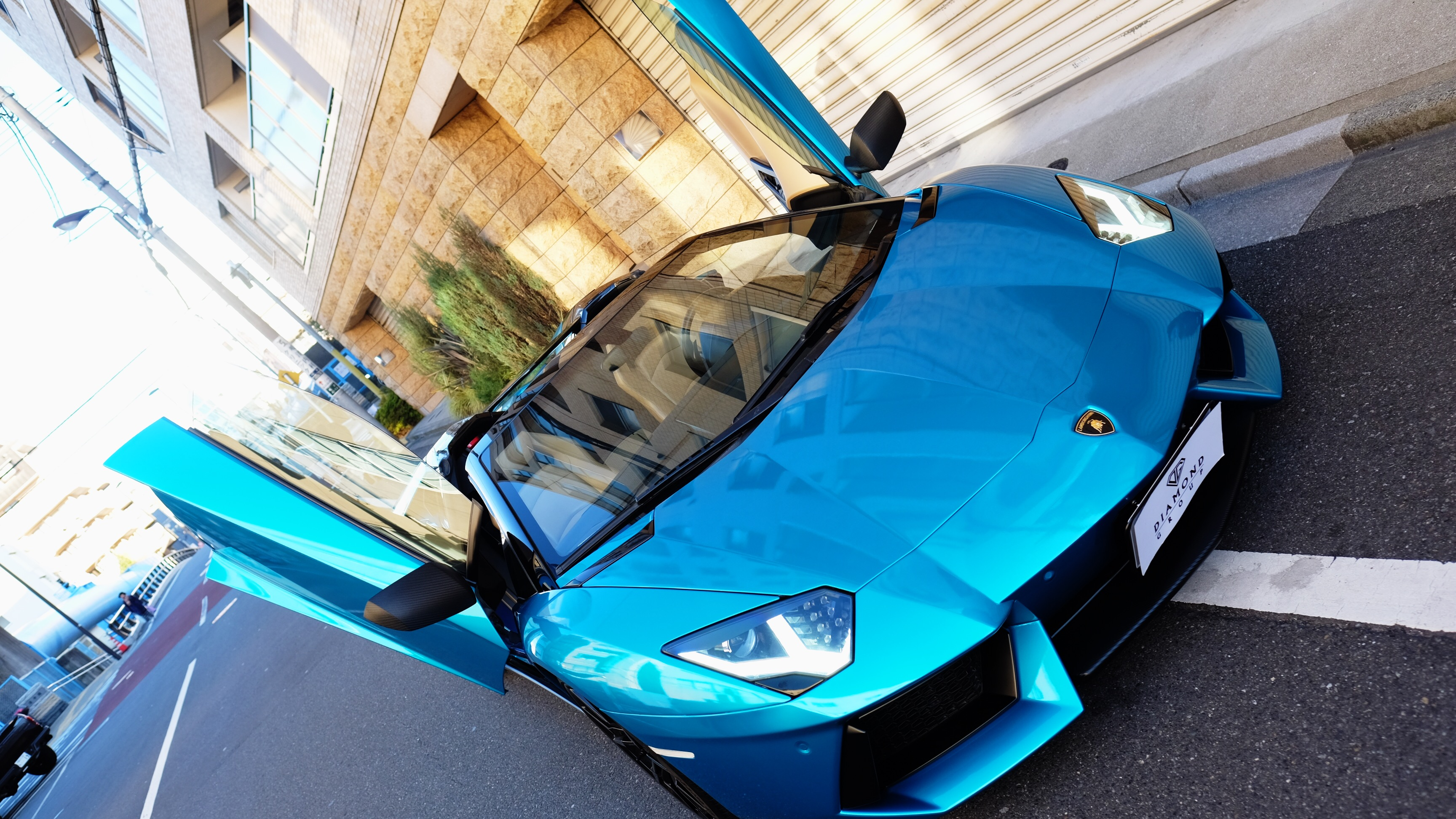 Aventador Gloss Metallica Blue