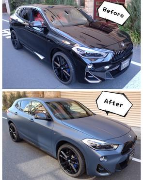 BMW X2 ラッピング