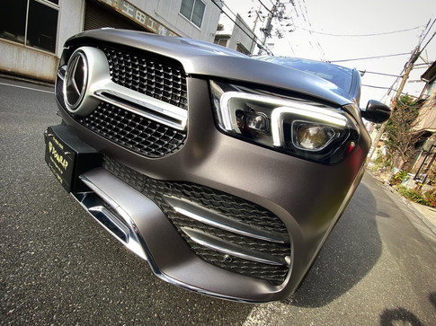 GLE 400d Satin Dark Grey