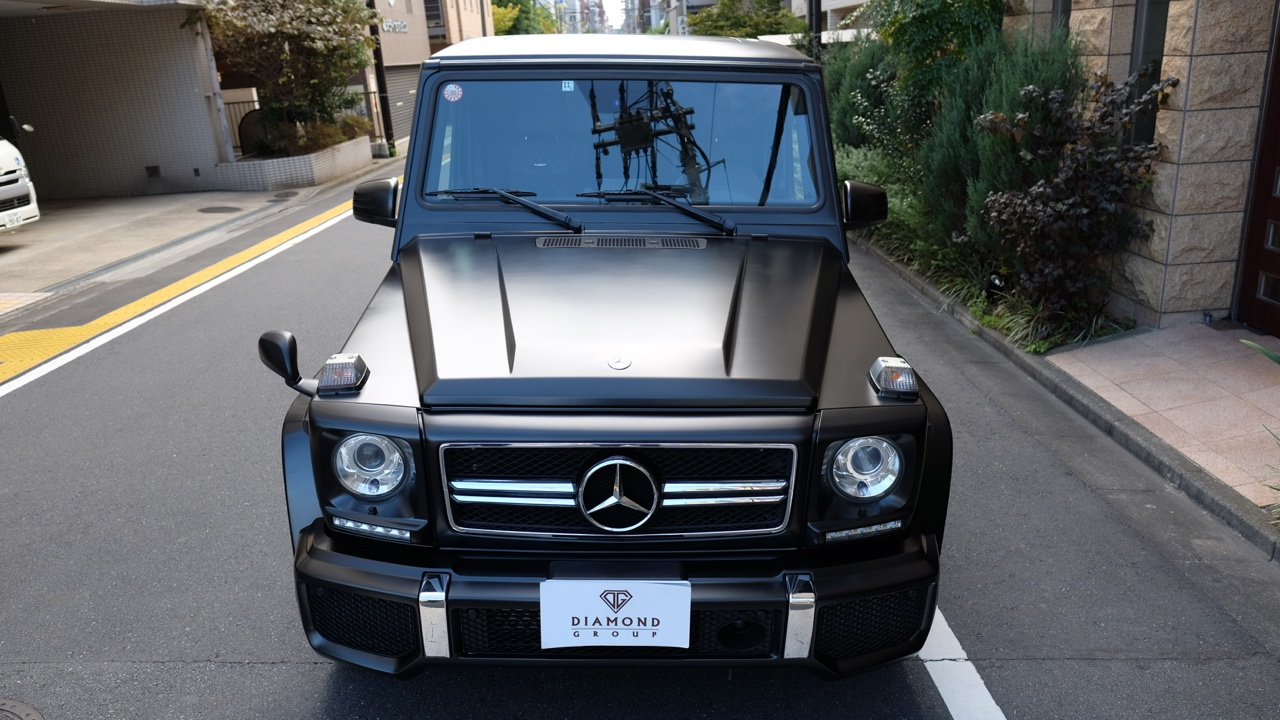 G63 AMG Satin Black