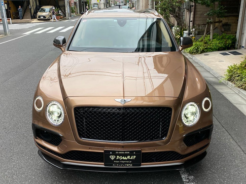 Bentayga Parts Wrapping