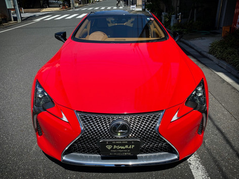 LC500 Gloss Carmine Red