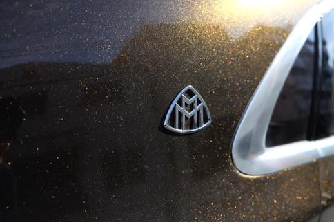 Maybach S560 ツートン ラッピング